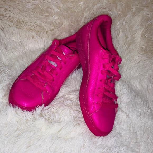 Puma Shoes | Neon Pink S | Poshmark